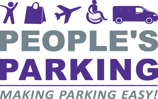 Peoples Parking website