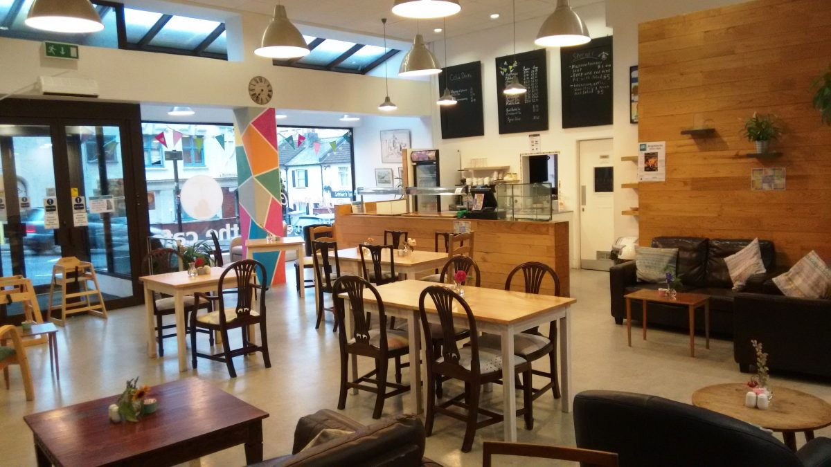 A photo of the inside of Bright Now Cafe.
