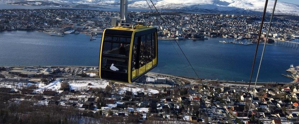 Google photo of the cable car