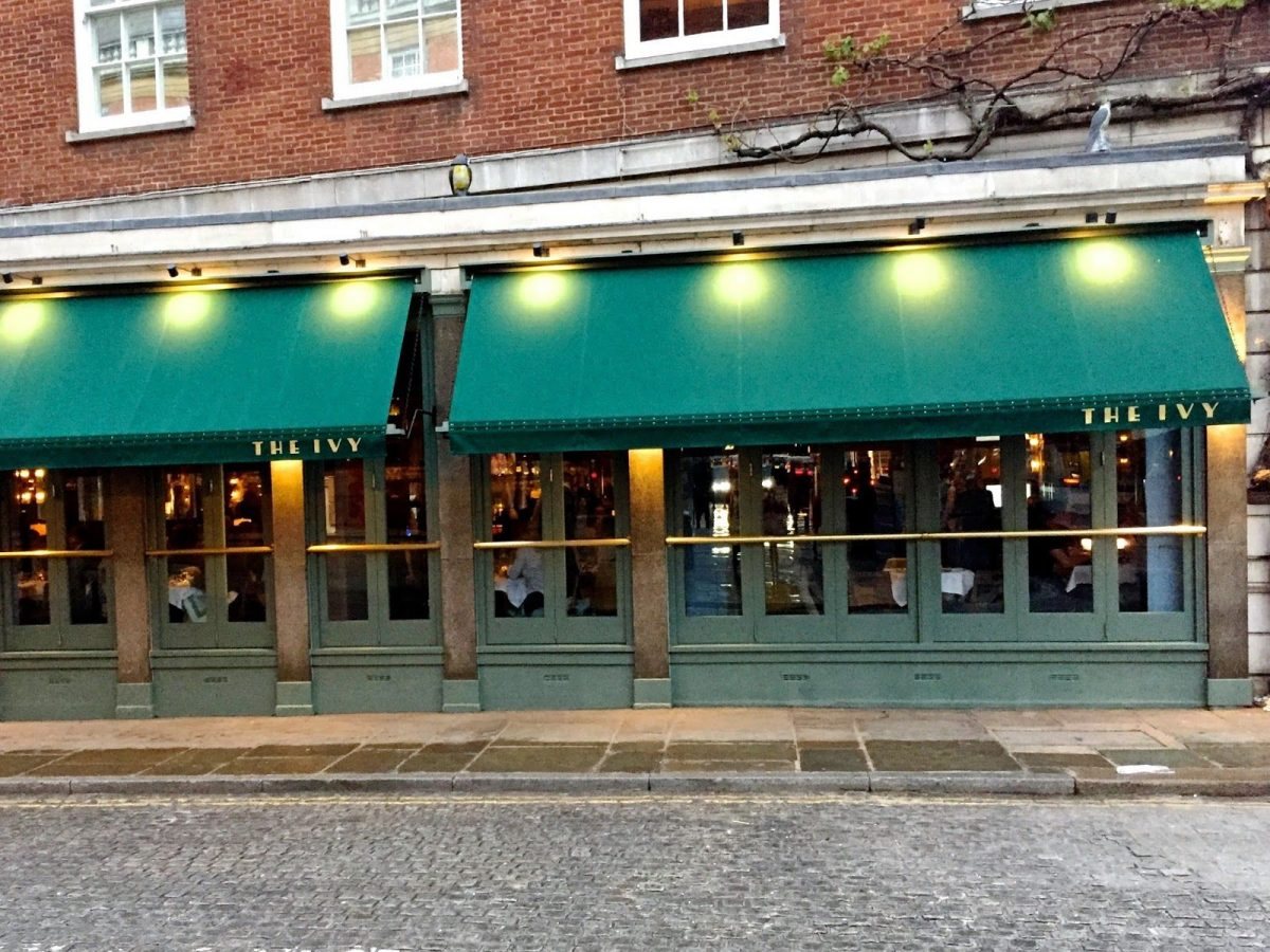 What was All Bar One is now The Ivy Cafe, Richmond,