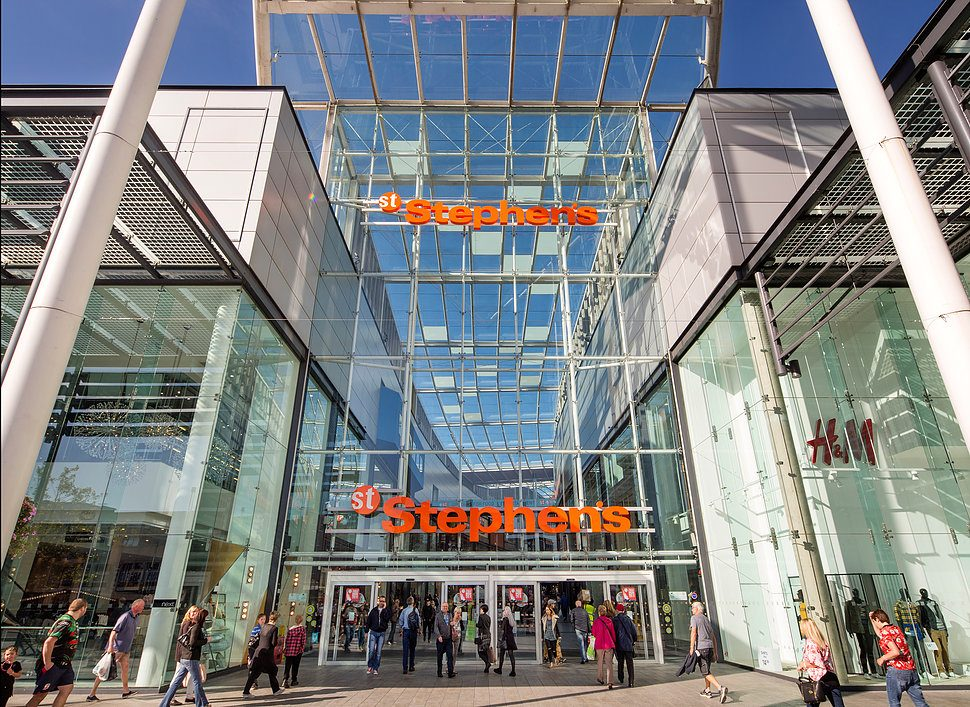 WOW! What can I say! St Stephens Shopping Centre has it all from changing places to ease of parking you name it they hav