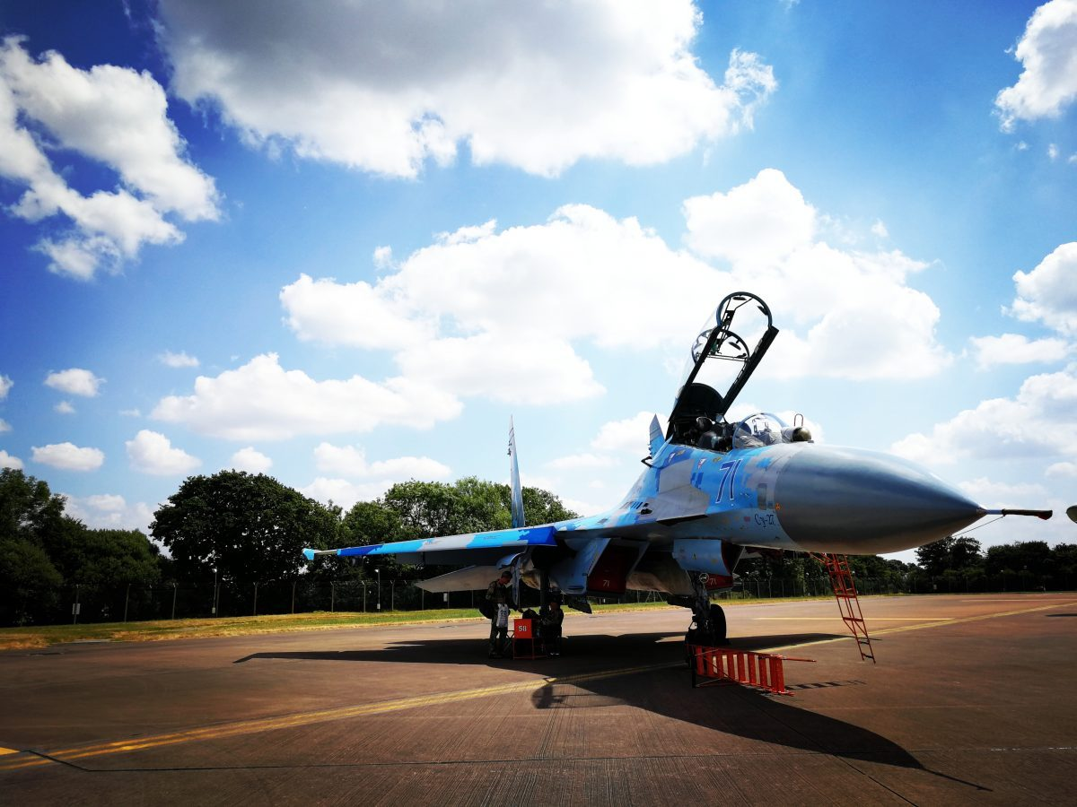 My favorite aircraft! SU 27 Flanker