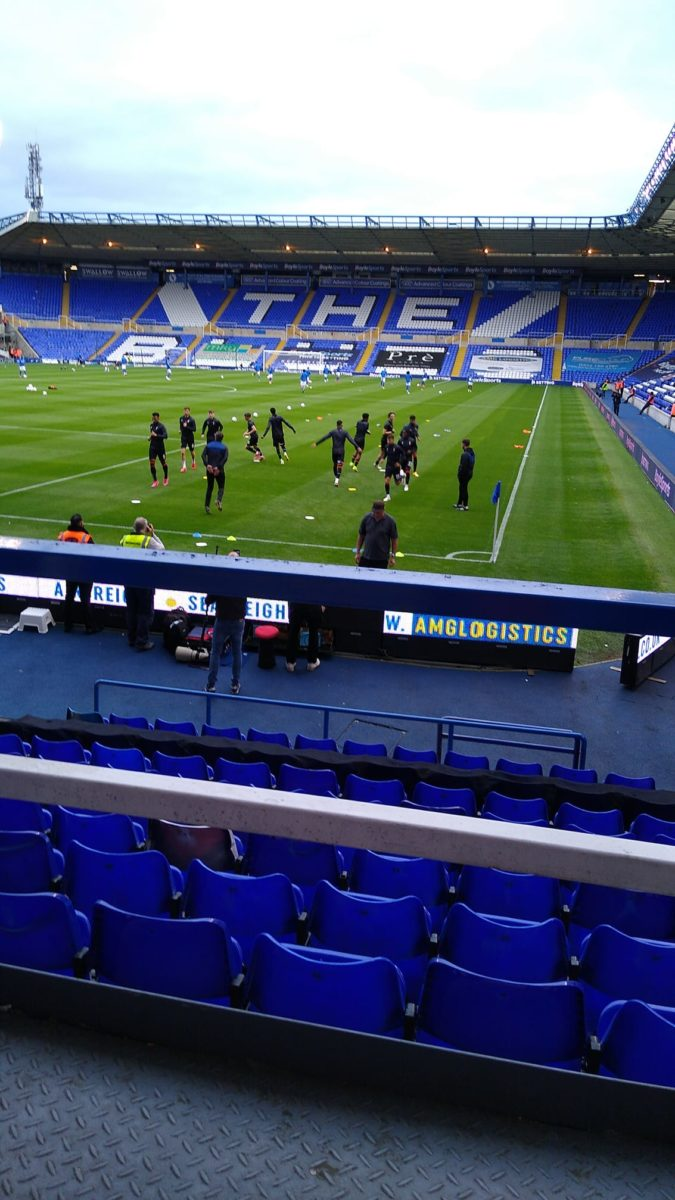 Review of St Andrews Football ground (Birmingham City) -18 August 2021