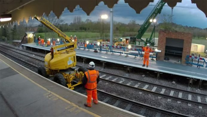 £700,000 going towards making the station LESS ACCESSIBLE - A purely vanity project on a heated rubber platform to prev