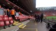 About 8-10 wheelchair spaces for away fans